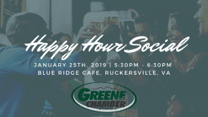 Happy Hour Social- Greene Cocktail @ Blue Ridge Cafe | Ruckersville | Virginia | United States