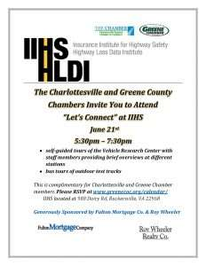 """""""Let's Connect"""" @ IIHS 