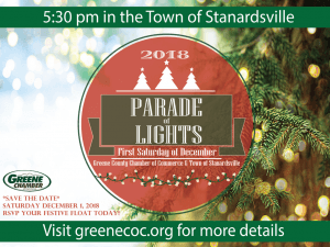 13th Annual Parade of Lights @ William Monroe High School  | Stanardsville | Virginia | United States